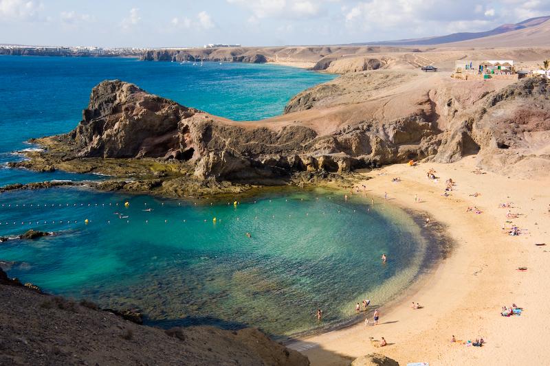 Papagayo Lanzarote  Ontdek de mooiste stranden op het eiland
