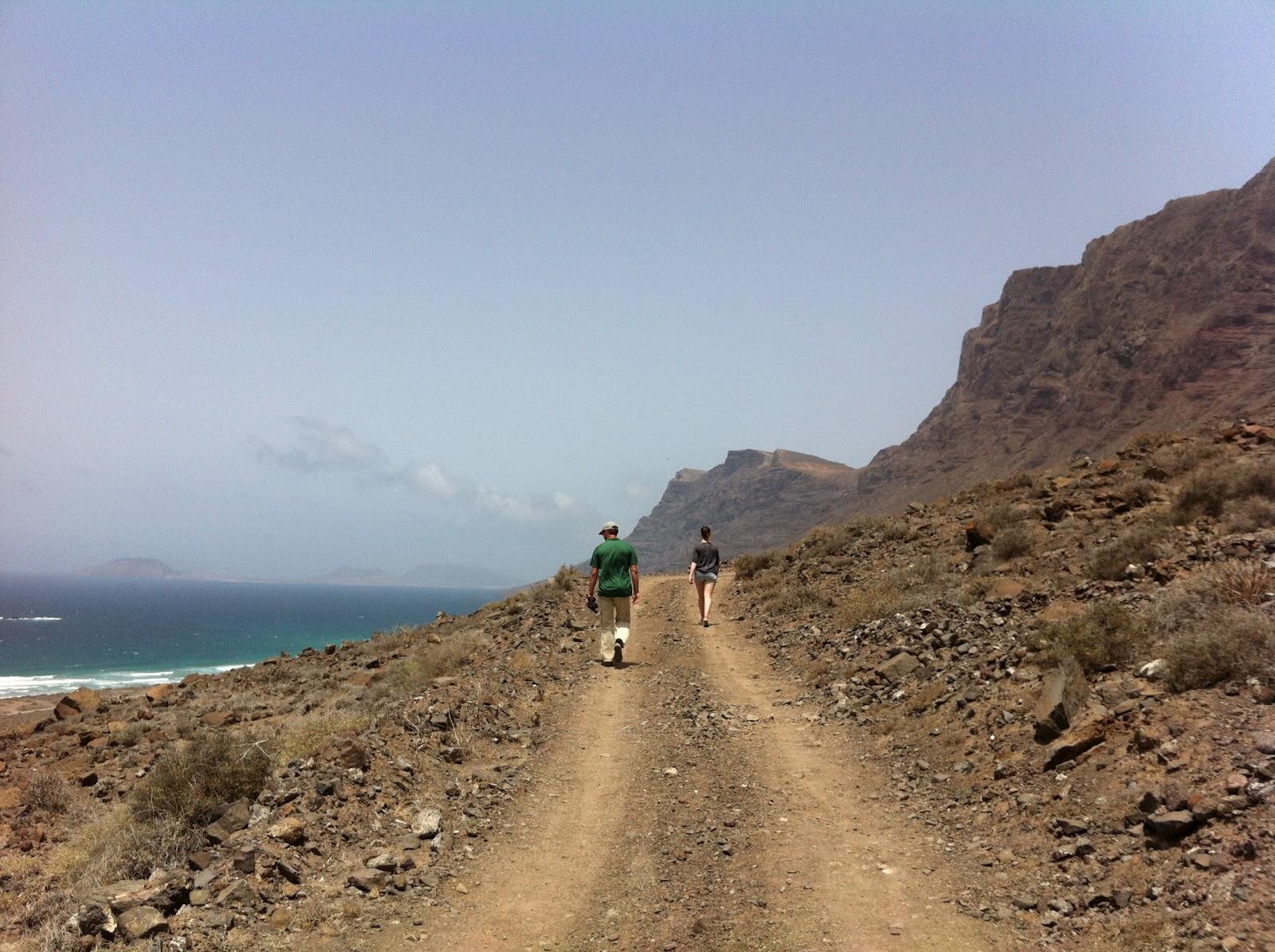 Wandelroute Lanzarote